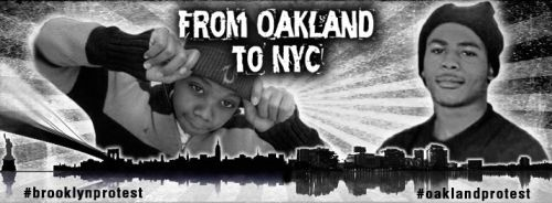 From Oakland to NYC... End Police Brutality!