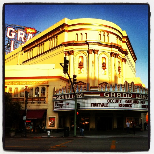 #OO Occupy Oakland at The Grand Lake Theater!!!