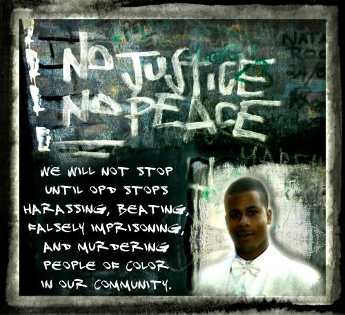 No Justice.  No Peace!!