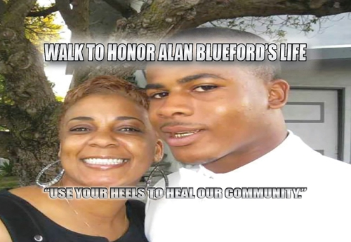 SATURDAY MAY 3RD: WALK TO HONOR ALAN BLUEFORD'S LIFE!